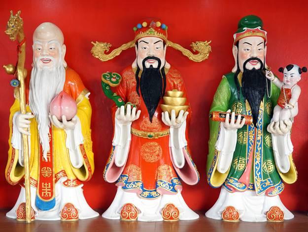 บูชา ฮก ลก ซิ้ว สร้างความมั่งคั่งเจ้าของบ้าน
