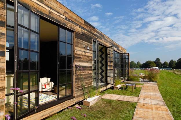 บ้านน็อคดาวน์ บ้านสำเร็จรูป เหมาะแก่การเป็นบ้านพักตากอากาศ