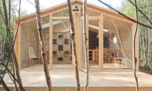ไอเดียใหม่ของการสร้างบ้านในราคาประหยัด บ้านน็อคดาวน์ บ้านสำเร็จรูป