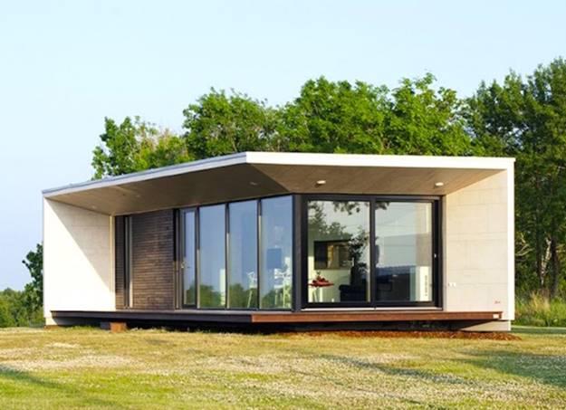 รูปแบบบ้านน็อคดาวน์หรือบ้านสำเร็จรูป สไตล์โมเดิร์น