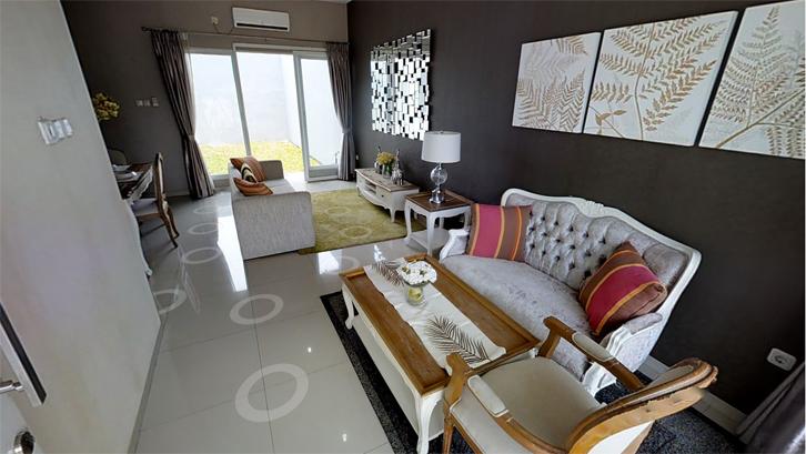 Konsep ruang terbuka cocok diaplikasikan untuk hunian berukuran kecil. Dengan konsep ini, rumah tetap terasa lapang.