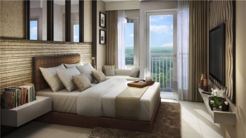 Apartemen Emerald Bintaro, menawarkan pilihan apartemen dengan harga Rp300 jutaan.