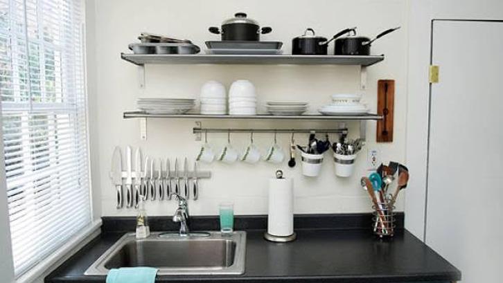 Cara Cerdas Menata Dapur Tanpa Kitchen Set Rumah Dan Gaya Hidup Rumah Com