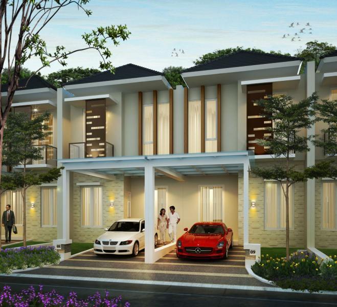 Metland Tambun Bekasi, tawarkan rumah dua lantai dengan harga mulai Rp750 jutaan.