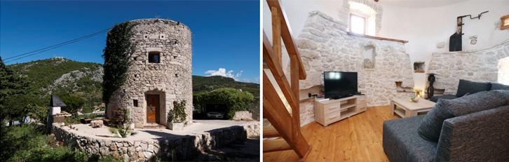 Anda penggemar Game of Thrones atau film abad pertengahan? Rasakan sensasinya dengan tinggal di Hvar Tower ini.