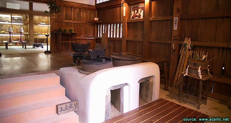 Old kitchen japan