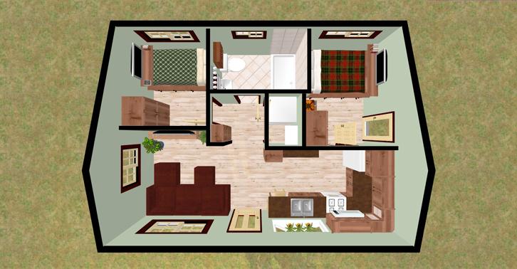 Inspirasi Desain Interior Untuk Rumah 60m2 Rumah Dan Gaya