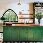 Pilihan warna yang tepat membuat Anda lebih semangat beraktivitas di dalamnya, apalagi bagi Anda yang sedang giat belajar masak.