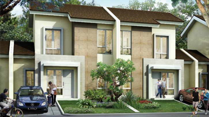 Setiap klaster di Paradise Serpong City dirancang dengan jumlah unit terbatas