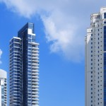 modern apartment blocks in Singapore