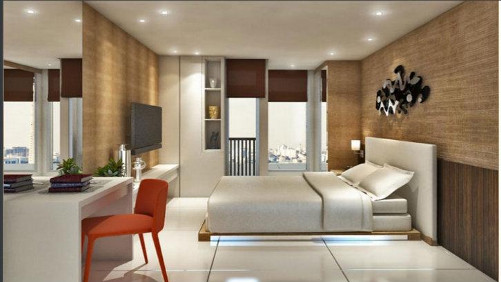 Tipe Studio (22 – 23,4 meter persegi) dengan harga mulai dari Rp280 juta