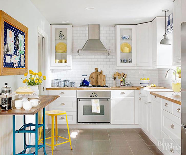 Warna Putih Adalah Pilihan Ideal Untuk Dapur Sempit Ini Mampu Merefleksikan Cahaya Secara Maksimal Dan Membuat Ruangan Terkesan Lapang