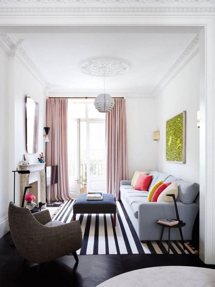 Gunakan ruang keluarga sepenuhnya sebagai tempat bersantai