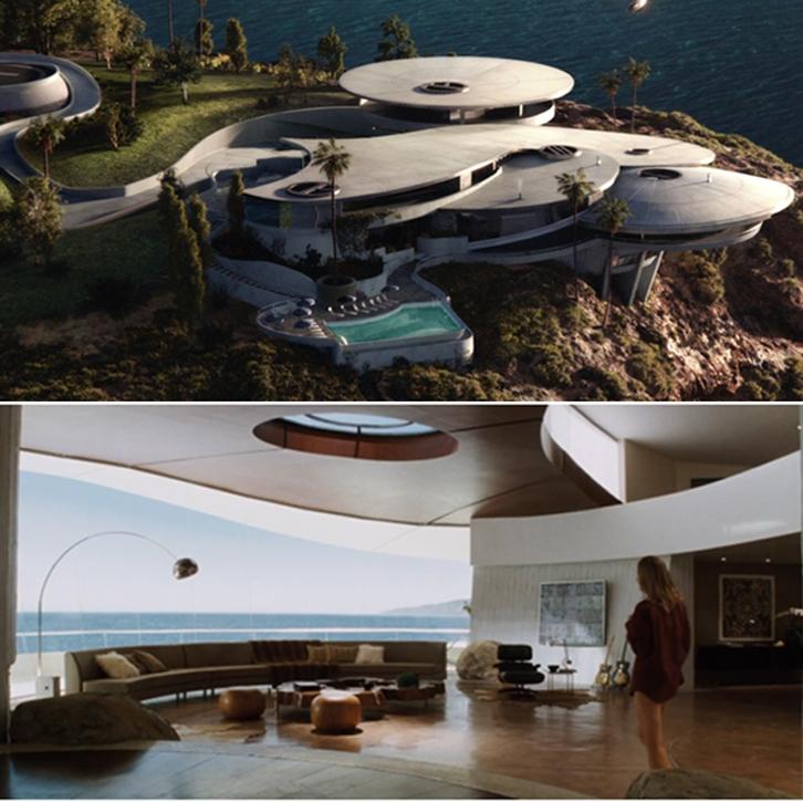 Hunian mansion milik Tony Stark ini berlokasi di Malibu