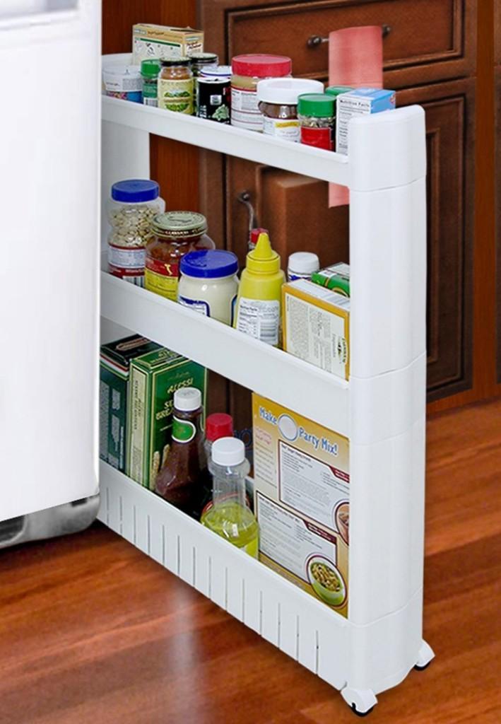 menata peralatan dapur-gunakan sisi kosong