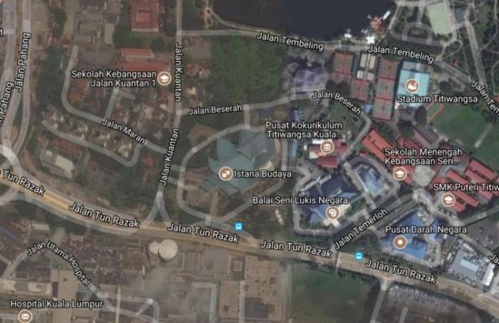 news google map mah sing