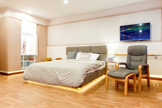 ห้องนอนสำหรับผู้สูงอายุ