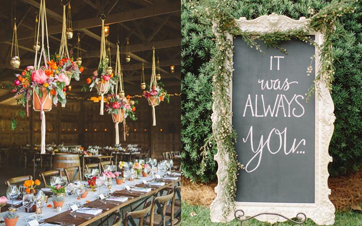 Inspirasi Dekorasi Untuk Resepsi Pernikahan Di Rumah Rumah