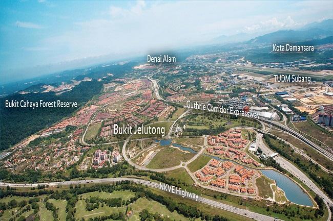 aerial view suburbans