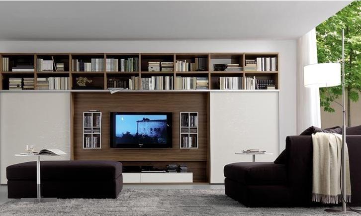 sebagai area display koleksi buku-buku favorit