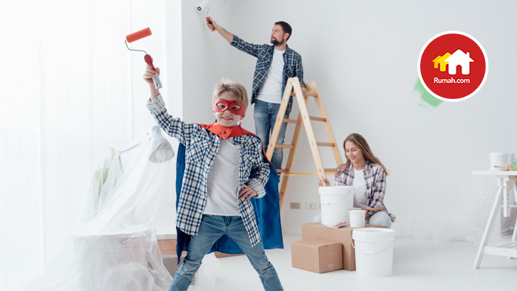 renovasi rumah butuh kesiapan finansial, tenaga, dan waktu
