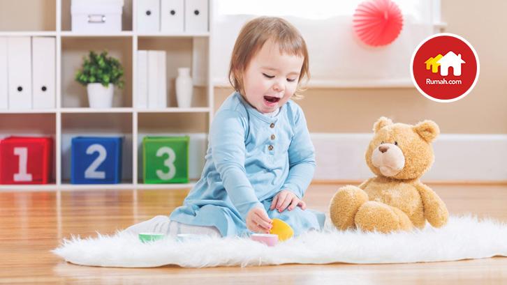 kamar tidur merupakan area penting bagi anak