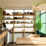 rak dapur model terbuka bisa jadi alternatif