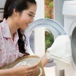 air paling banyak diperlukan saat mencuci pakaian dibandingkan untuk mandi