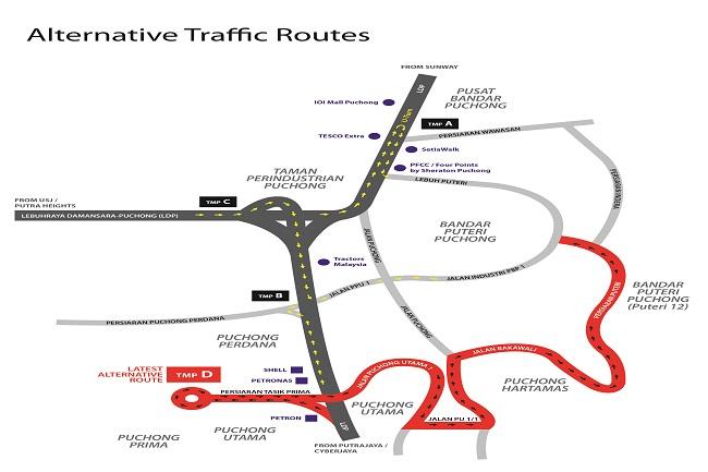 Appendix 1 Alternative Traffic Routes (002)