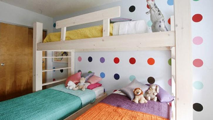Inspirasi Desain Kamar Tidur Untuk Tiga Anak Rumah Dan Gaya Hidup Rumah Com