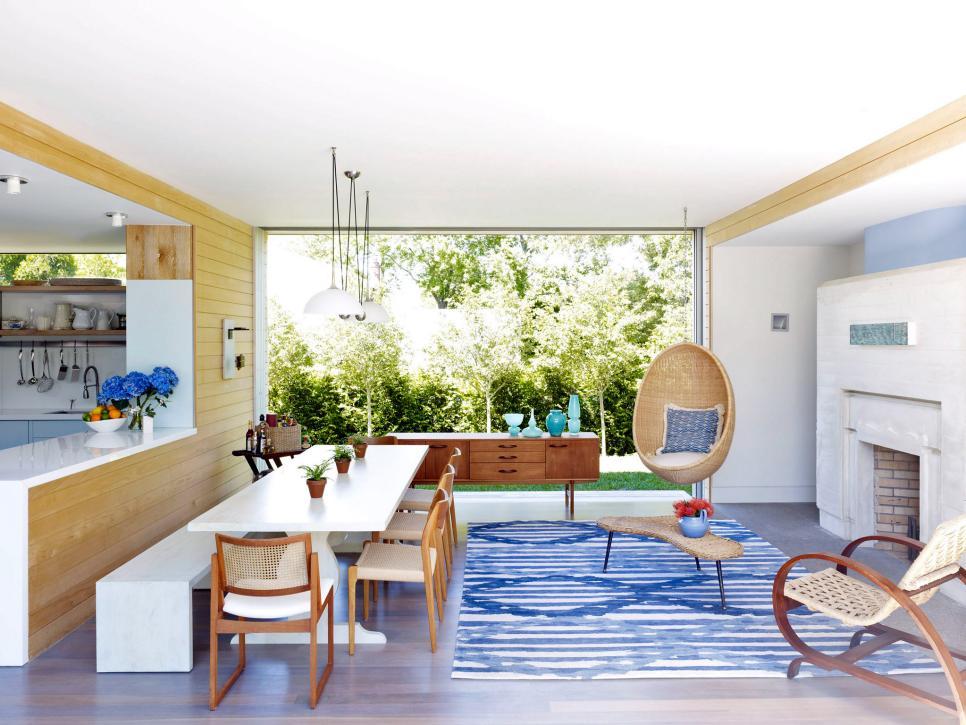 kitchen2 - Ruang Tengah dengan Background Taman Segar, Bikin Rileks!