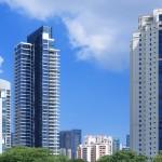 Luxury apartments in Singapore.