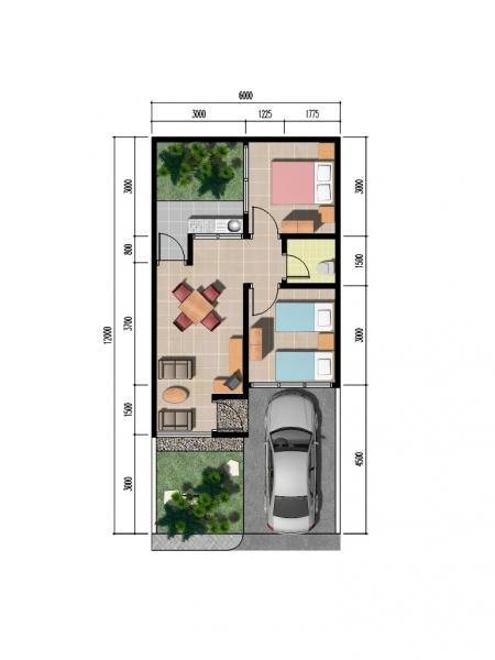 6 Contoh Desain Rumah Minimalis Type 36