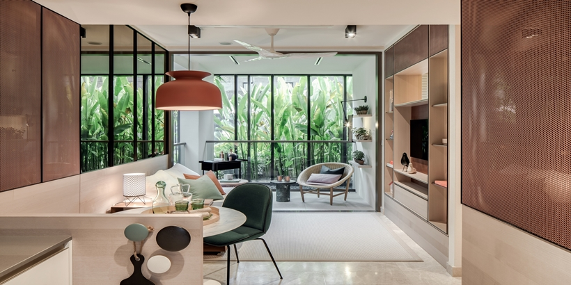 Park Place Residences Bags 3 Interior