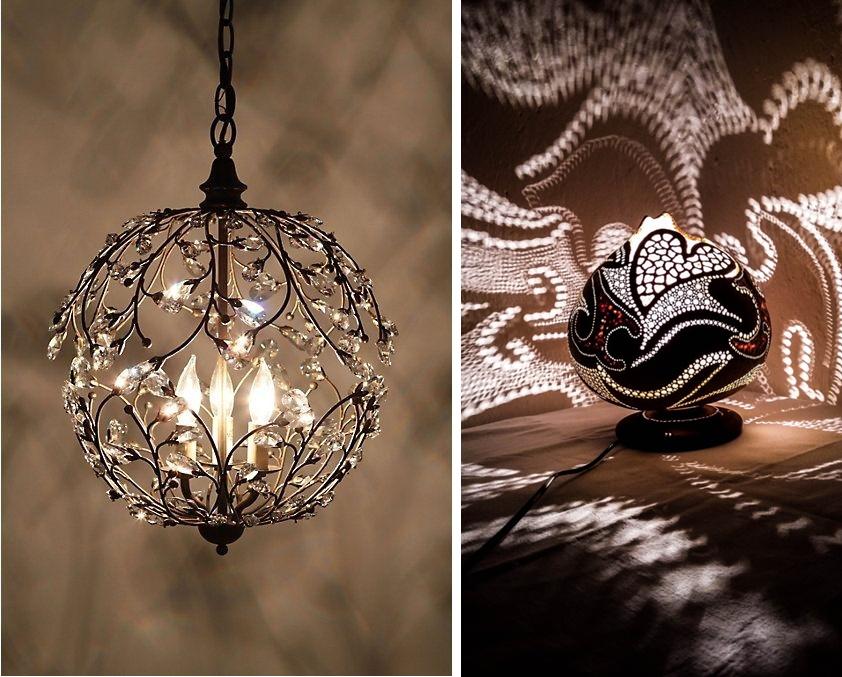โคมไฟสร้างบรรยากาศชวนฝัน ให้กับห้องนอนสไตล์โบฮีเมียน