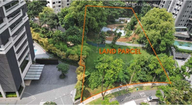 Land parcel at Cuscaden Road