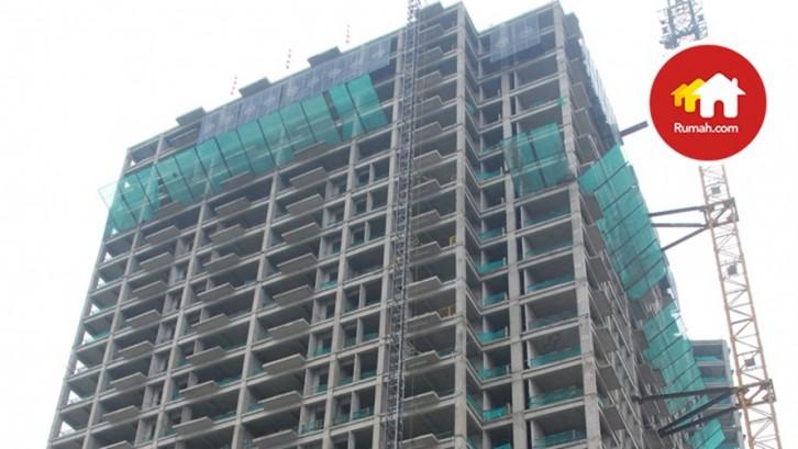 konstruksi apartemen