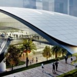 Artist's impression of the HSR terminus in Jurong East crop