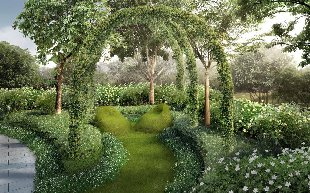 Parc Botannia lush greenery
