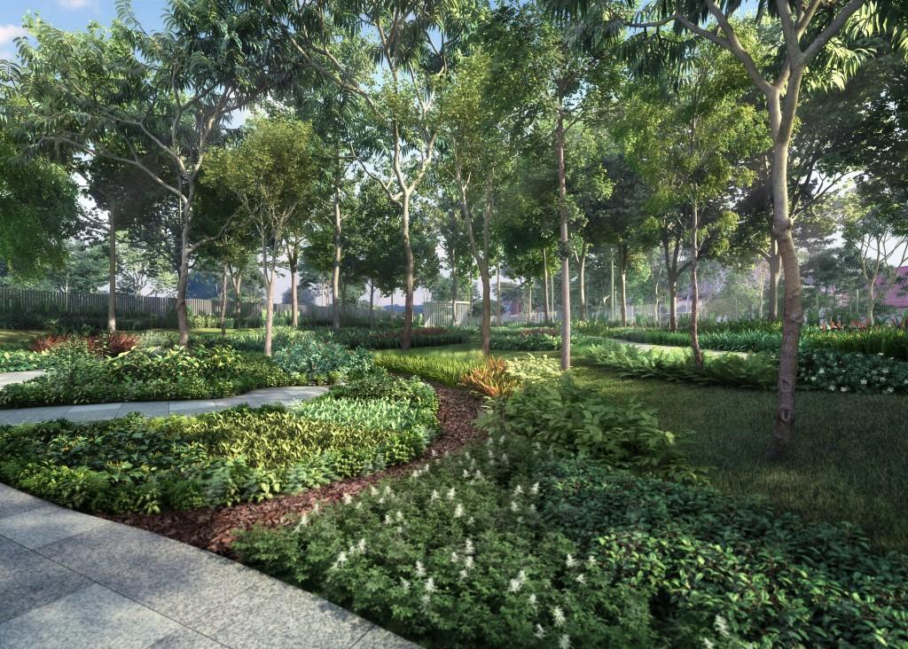 The Garden Residences landscaping