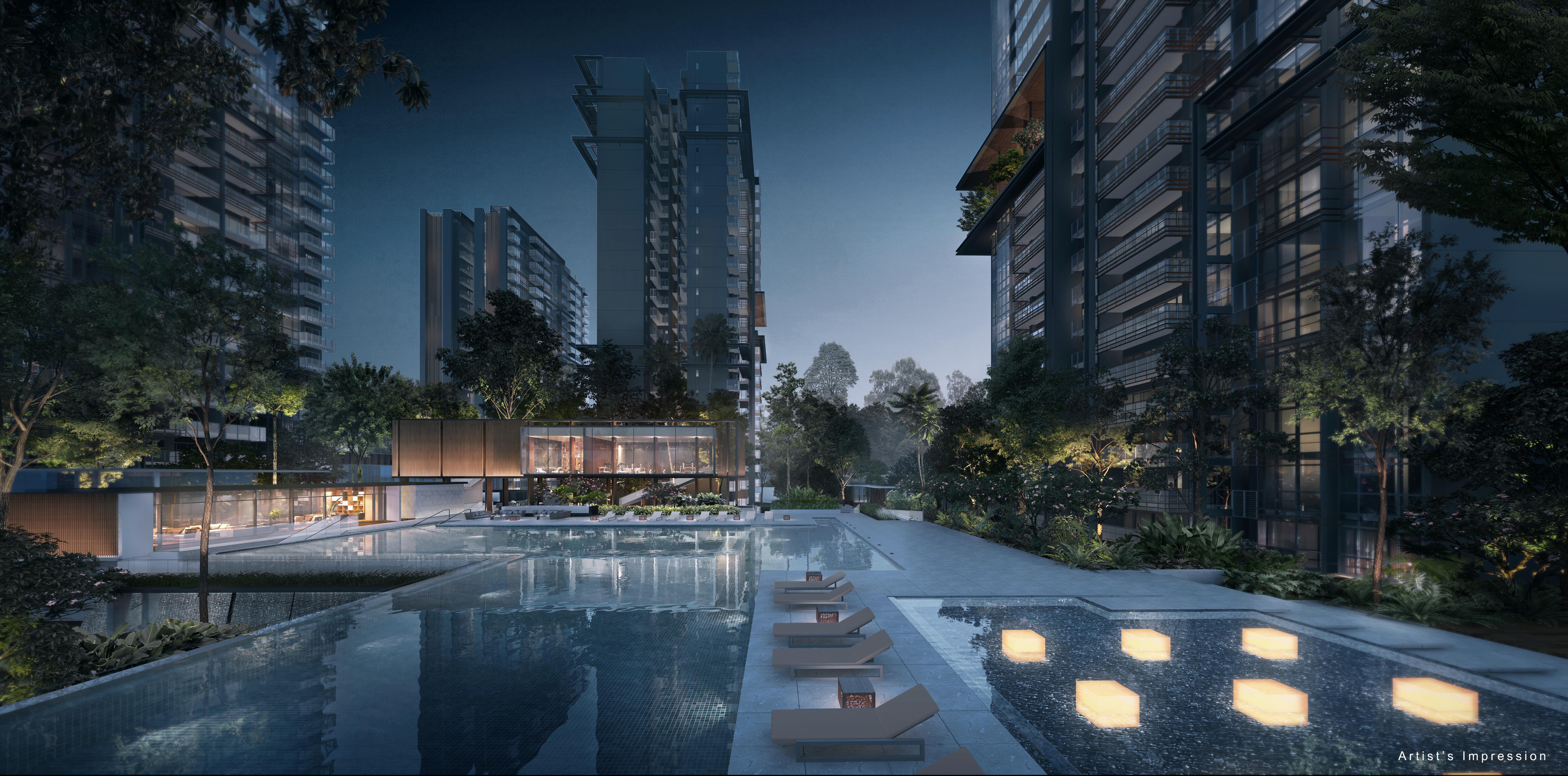 JadeScape Skyline Pool