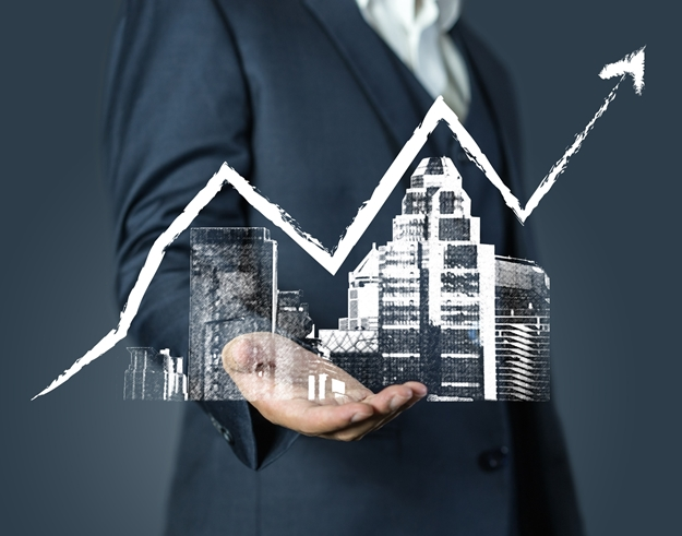 investment real estate business background concept