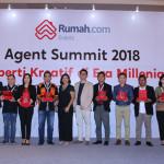 20 Penghargaan Disabet Agen Properti Berkualitas dalam Rumah.com Agent Summit 2018