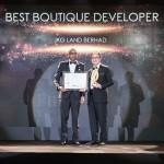 JKG Land Berhad Scoops Malaysia's Best Boutique Developer Award