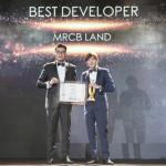 MRCB Land Wins Malaysia's Best Developer Award