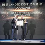 The Cove Bungalow Homes Scoops Best Landed Development (Iskandar) Award for Horizon Hills Development