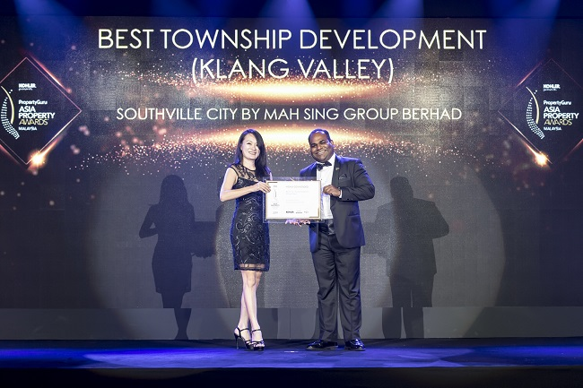 Southville City @ KL South by Mah Sing Group Highly Commended for Malaysia's Best Township Development (Klang Valley) Award
