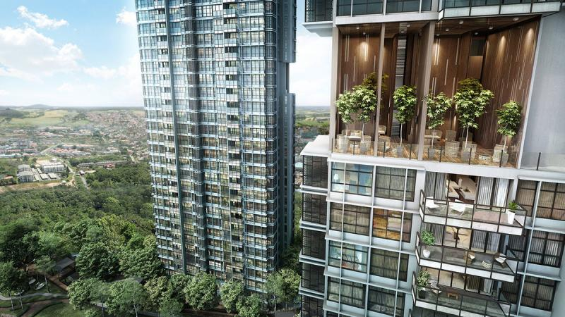 Astoria Ampang located along Jalan Ampang is a project by L&G