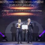 Easton Urban Kapital Menangkan Penghargaan Best Town House Development untuk Cornerstone House yang Modern dan Minimalis