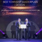 Jakarta Garden City Memenangkan Penghargaan Best Township Masterplan Design 2019 untuk Modernland Realty